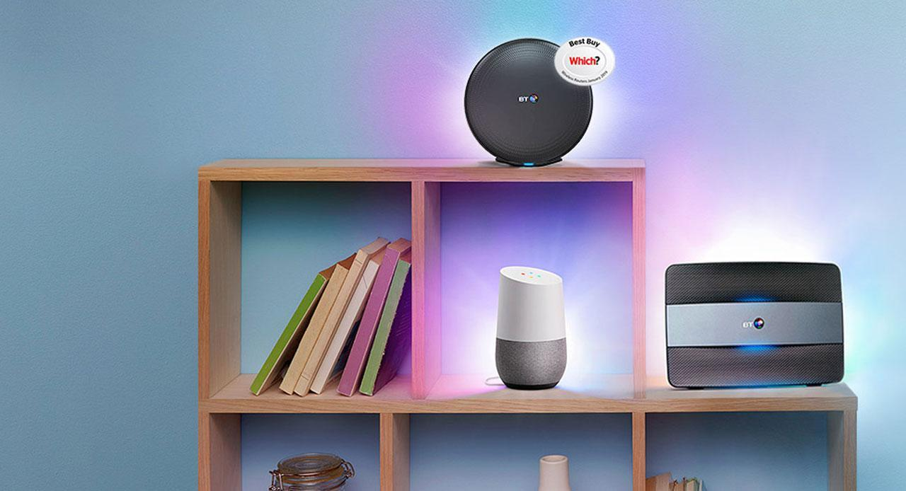 Free Google Home with BT Broadband Packages