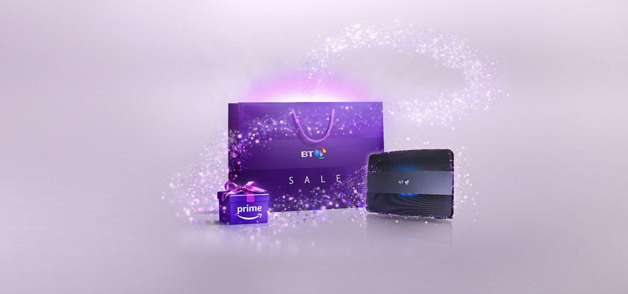 BT Broadband Deals Now Include Free Amazon Prime