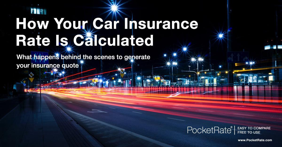 How your car insurance rate is calculated